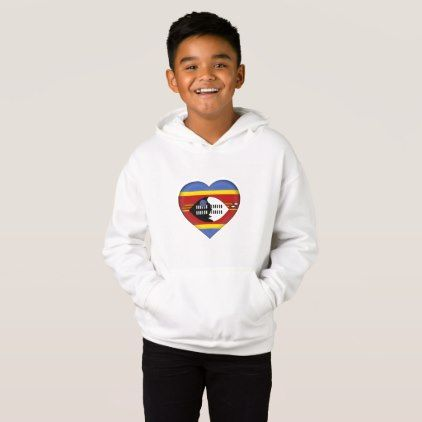 #country - #Swaziland Flag Hoodie