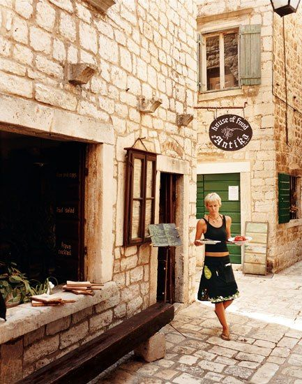 Stari Grad, a port town on Hvar, Croatia, known for its art galleries and Byzantine architecture, was recently declared a UNESCO World Heritage Site