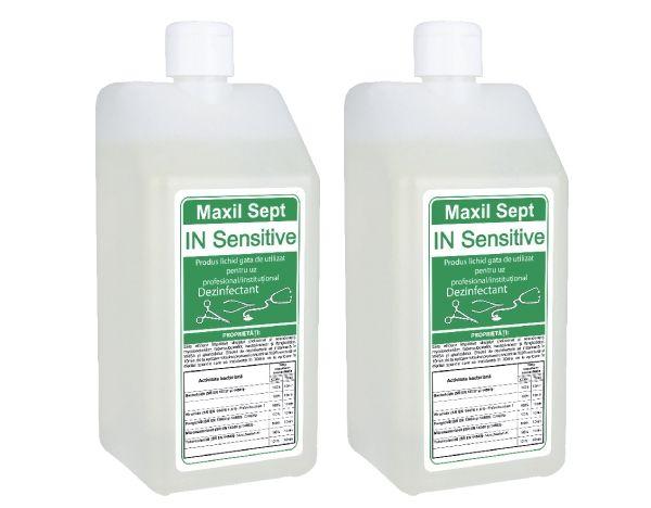 Maxil Sept IN Sensitive pentru dezinfectarea si sterilizarea instrumentarului medical.