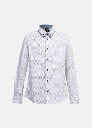 Рубашка с цветной отделкой за 1399р.- от OSTIN