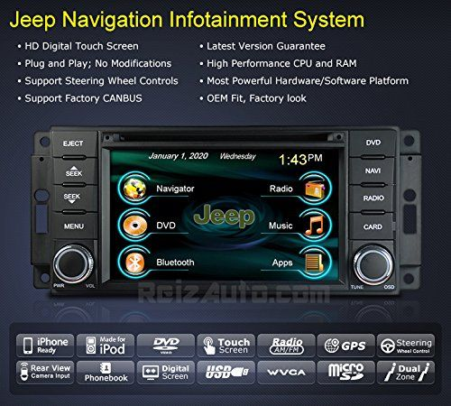 Special Offers - 2007-2014 Jeep Wrangler 2008-2013 Jeep Liberty In-Dash GPS Navigation Stereo DVD CD MP3 AVI USB SD Radio Bluetooth Hands-free Steering Wheel Controls Touch Screen iPod-Ready iPhone-Ready AV Receiver Video Audio Player Multimedia Infotainment System w/ Digital TV Rear View Camera OEM Replacement Deck - In stock & Free Shipping. You can save more money! Check It (June 29 2016 at 11:41AM)…
