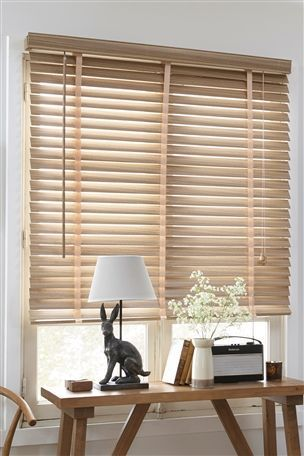 Buy Lime Oak Effect Wide Slat Venetian from the Next UK online shop