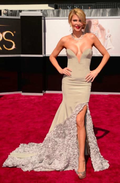 How'd you end up at the Oscars, Brandi Glanville?