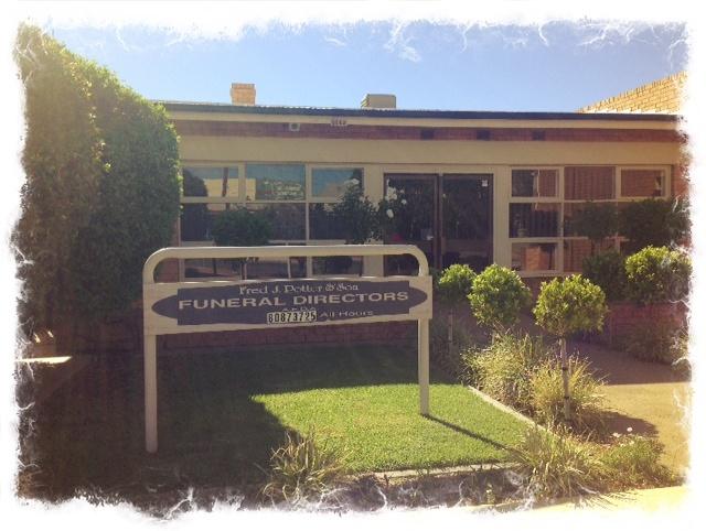 Funeral Home. Broken Hill.