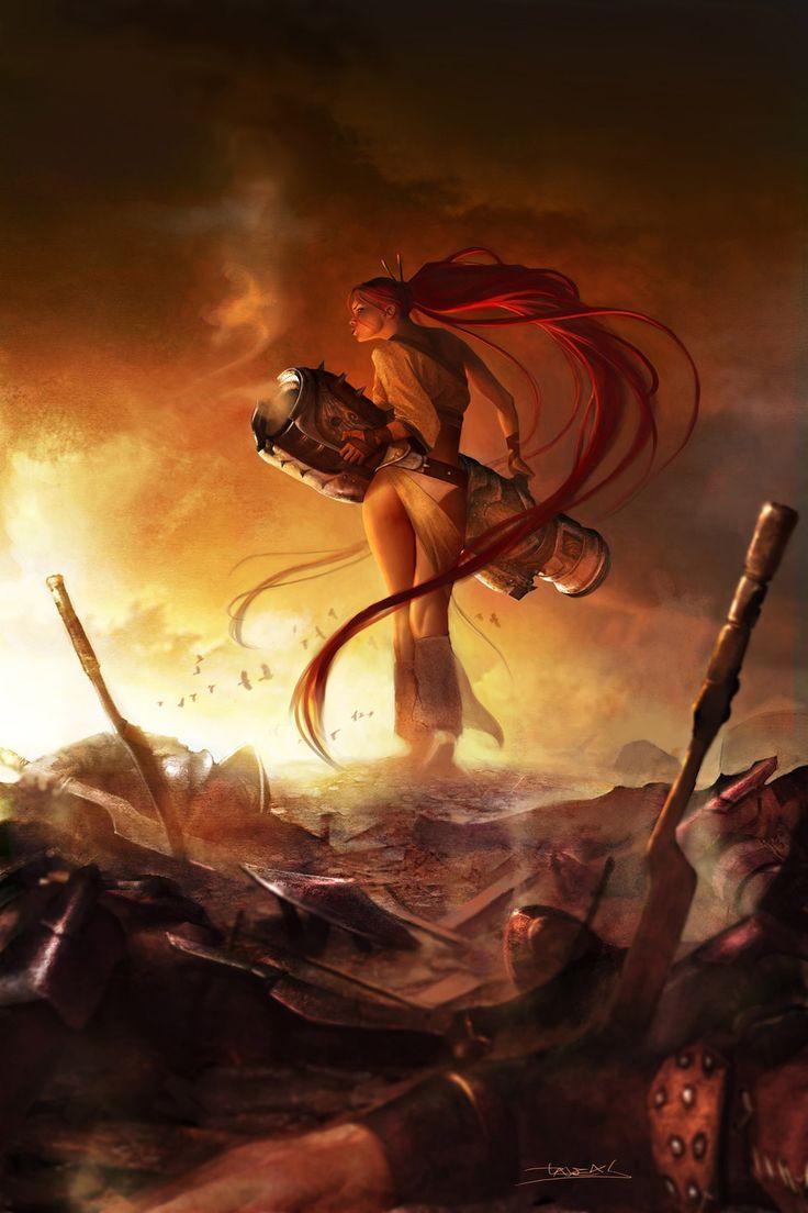 ass, pants, phallic symbolism // Nariko, Heavenly Sword