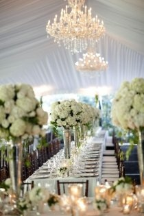 Tent draping and chandlers