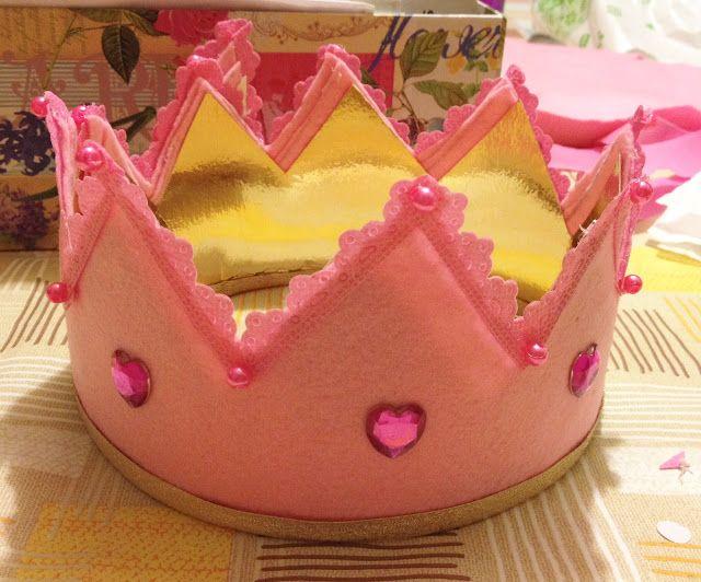 Corona da principessa fai da te - Bella addormentata