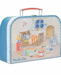 Moulin RotyBedtime Suitase $89.95 #sweetcreations #kids #girls #gifts #playset