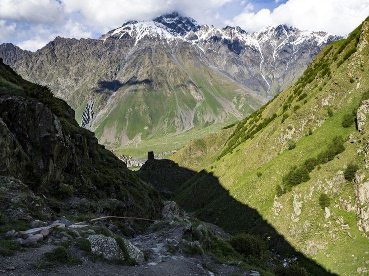 Mount Shani, Caucasus, Georgia, Ingushetia (Gora Shan, შანი)