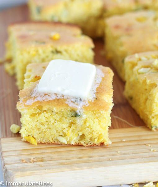 South African Corn Bread - A MOIST and DELICIOUS cornbread that you just have to make to appreciate!