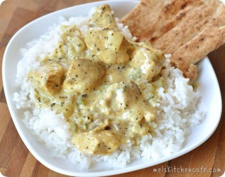 Basil chicken in coconut curry sauce.  I'm LOVING this blog's recipes.