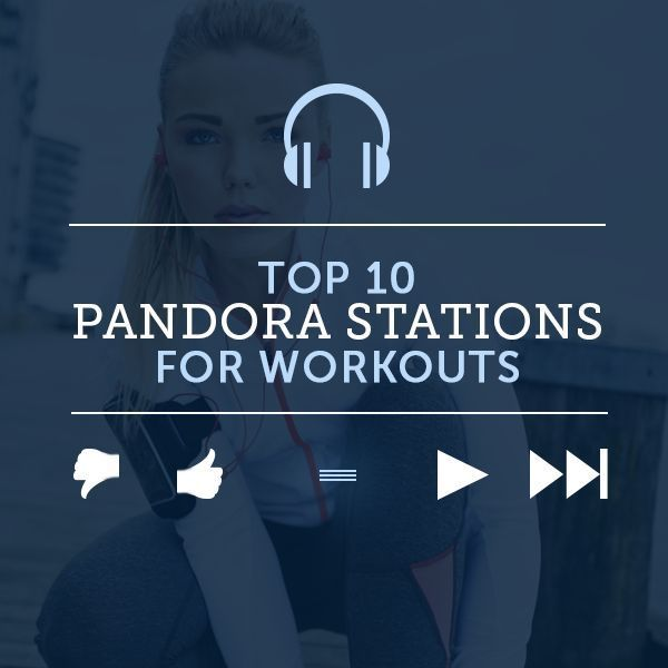 Top 10 Pandora Stations for Workouts!  #workouts #workoutmusic #playlists