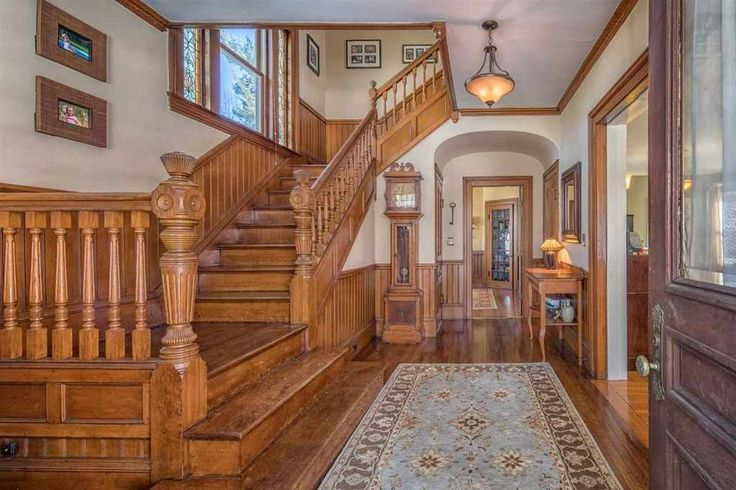 Rare Opportunity to own this stunning Victorian Home with major renovations complete over the past few years to include Kitchen with professional appliances, granite and a tremendous amount of storage, Detailed woodwork with a grand staircase, beautiful stained glass windows, hardwood throughout 1st and 2nd floors, all baths have been redone, recently replace windows throughout, slate roof is in excellent condition.