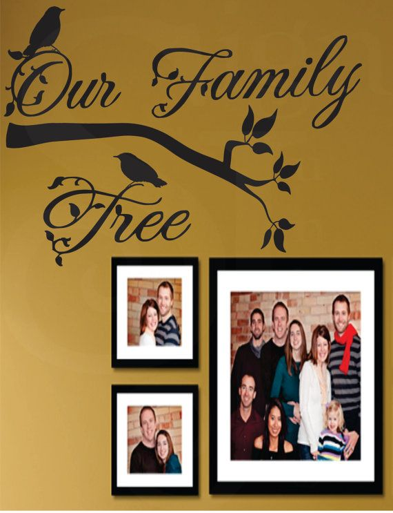 Family Tree Decal  Our Family Tree Livingroom  by SignJunkies, $25.95