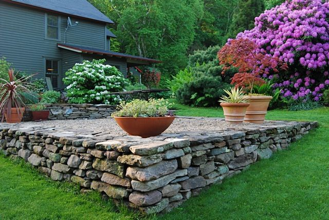 25 best ideas about sloping backyard on pinterest for Open yard landscaping ideas