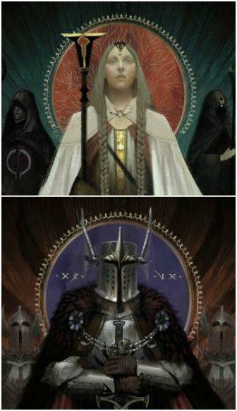Mage and Templar epilogue artwork - Dragon Age: Inquisition