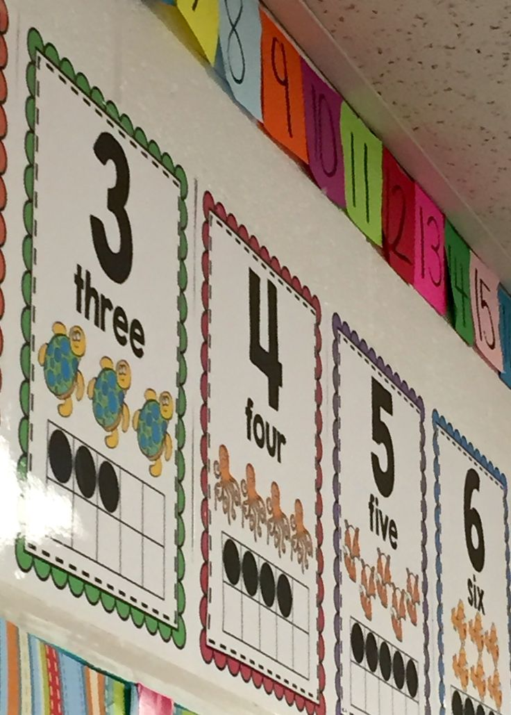 These number posters contain the numeral, number word, pictorial representation and a ten-frame. Great for little-learners who need that extra visual!