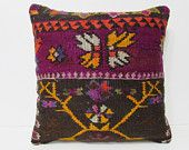 20x20 kilim pillow 20x20 large rug big pillow cover extra large cushion oversized cushion 20x20 pillow case large couch pillow covers 24512