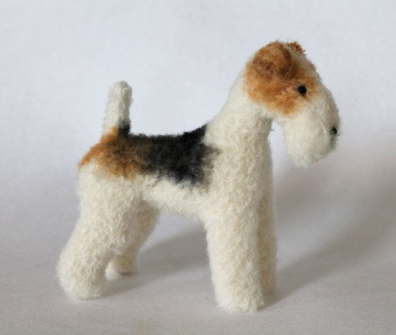 Wire Fox Terrier (16.5cm) - PDF dog sewing pattern