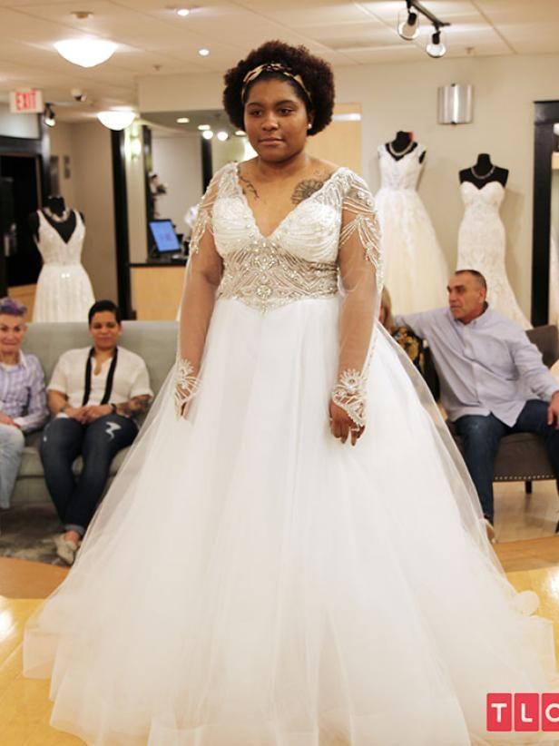 Say Yes To The Dress Atlanta Bride Jessica Designer Romona Keveza Style 0134890 Price 5 097 In 2020 Stunning Wedding Dresses Dresses Atlanta Bride