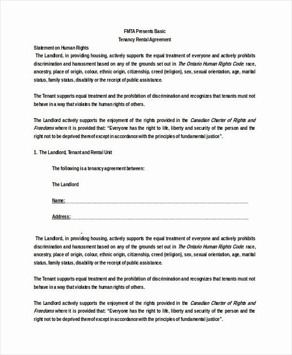 Basic Lease Agreement Template Inspirational 26 Basic Rental Agreement Templates Doc Pdf Rental Agreement Templates Being A Landlord Agreement