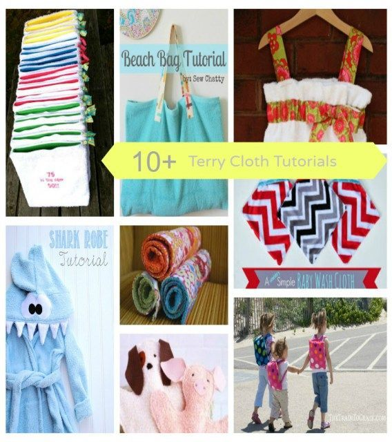 Beatnik Kids Terry Cloth Sewing Projects Uncategorized  terry cloth round up terry cloth sewing projects sewing round up