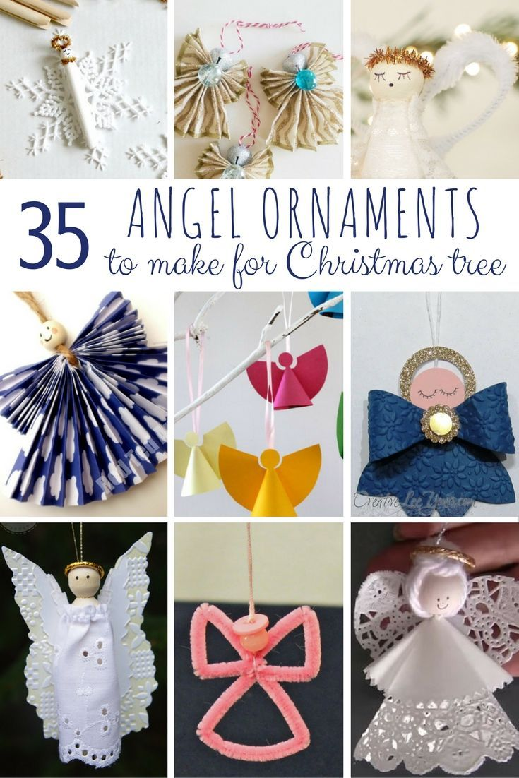 DIY Angel Ornaments Christmas angel crafts, Diy