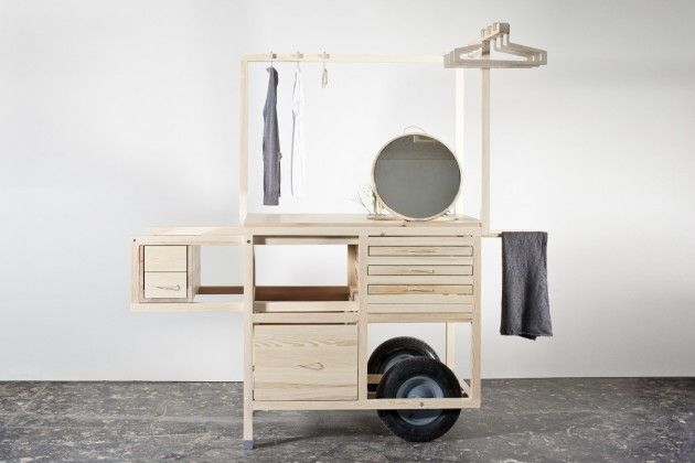 <p>COS's signature minimaliststyle is reaching far beyonditsclothes:this time it's a mobilepop-upstore that has COS written (subtly) all over it. The Swedish brand commissioned the Vienna-based