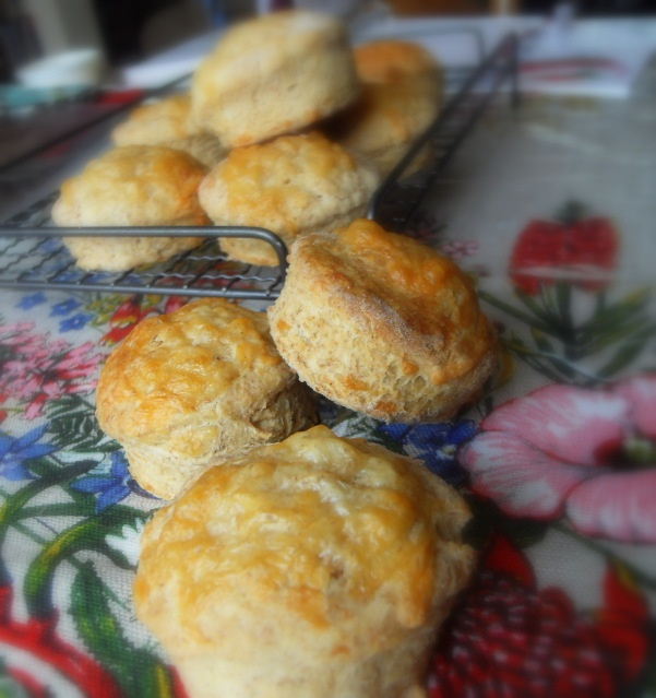 Cheesey Marmite Scones from The English Kitchen