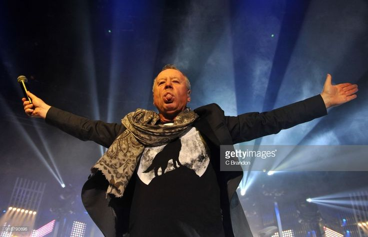 Jim Kerr of Simple Minds performs on stage at the Roundhouse on February 15, 2018 in London, England.