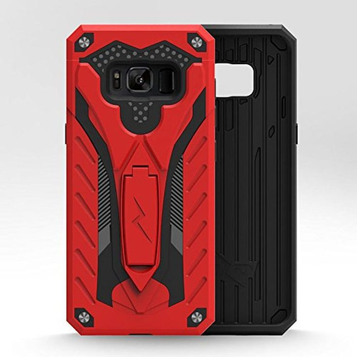 Samsung Galaxy S8 Plus Case, Zizo [Static Series] Shockproof [Military Drop Tested] Kickstand [Galaxy S8 Plus Heavy Duty Case] Impact Resistant - S8+ 6