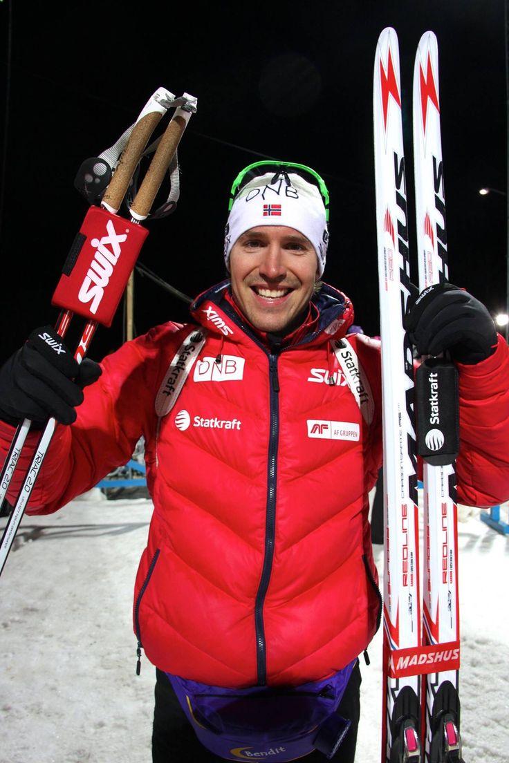 Östersund, 2014. Individual race, winner Emil Hegle Svendsen