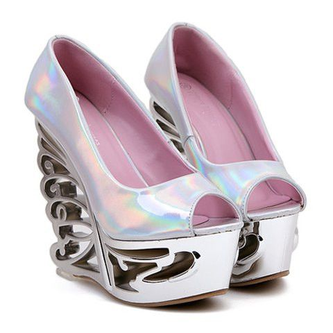 Trendy Womens peeped toes shoes