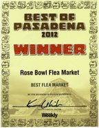 Rose Bowl General Information  Rose Bowl Flea Market  *Rose Bowl Selling Information    Sellers Information Have Fun and Make Money  Becoming a seller at the biggest event of it's kind is a great experience. Our customer service representatives will assist you in every way to get you started in a great new business.    http://rgcshows.com/rosebowl.aspx