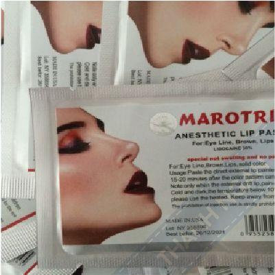 Miếng tê dán mỹ Marotrix với chất lượng gây tê 100%, có nguồn gốc từ Mỹ đảm bảo hiệu quả nhanh, sâu và giữ được lâu. Thời gian ủ tê từ 45 phút đến 1 giờ.  http://thietbispacaocap.com/san-pham/mieng-te-dan-my-marotrix/