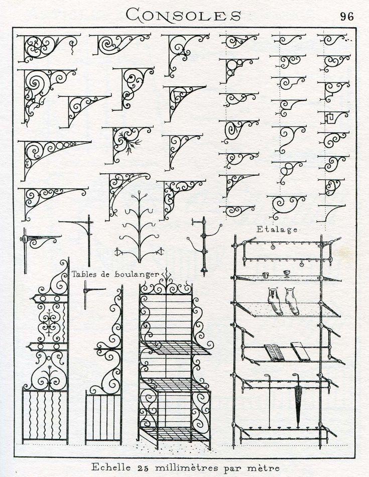 Best 25 antique iron ideas on pinterest antique iron for Fenetre fer forge