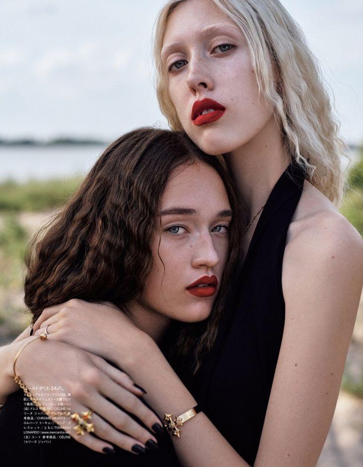 Gothic Fashion Editorial | Vogue Japan | Tyg & Elizabeth Davison
