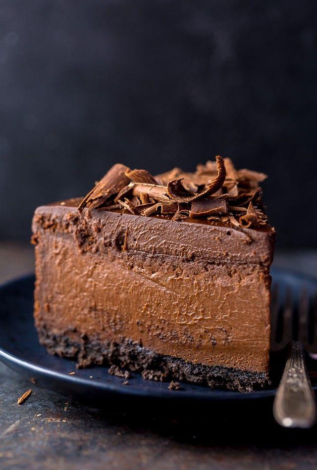 Ultimativer Schokoladen-Käsekuchen