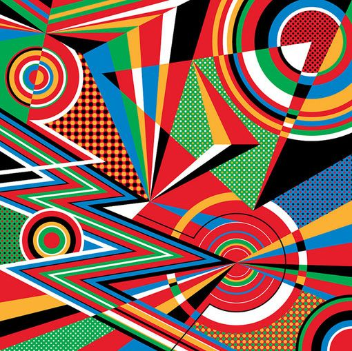 Love these bold colors and shapes.: 2012 Olympics, London 2012, Pattern, Colors Backgrounds, Cocacola, Coca Cola, Mwm Graphics, Bold Colors, Matte Moore