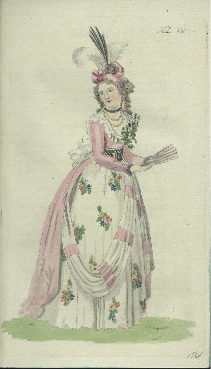 July 1793 - Vauxhall Opera Dress