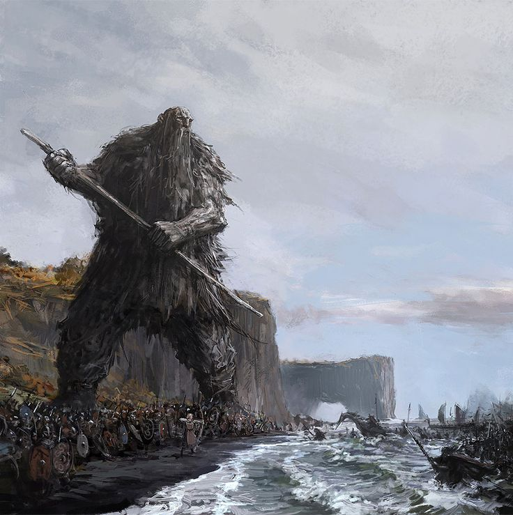 The Protectors Of Iceland: My Fantasy Paintings Inspired By Icelandic Myths And Music - Bored Panda