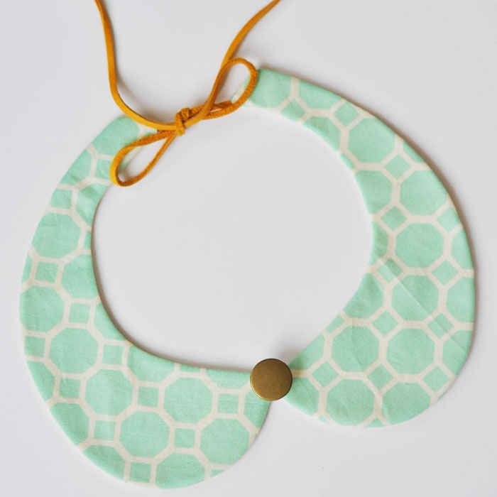 my sparkle: Removable Peter Pan Collar DIY