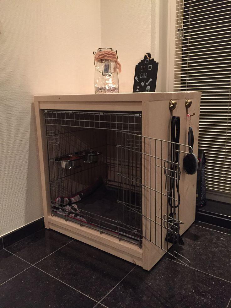 Steiger Houten Honden Bench Chien Pinterest Dog