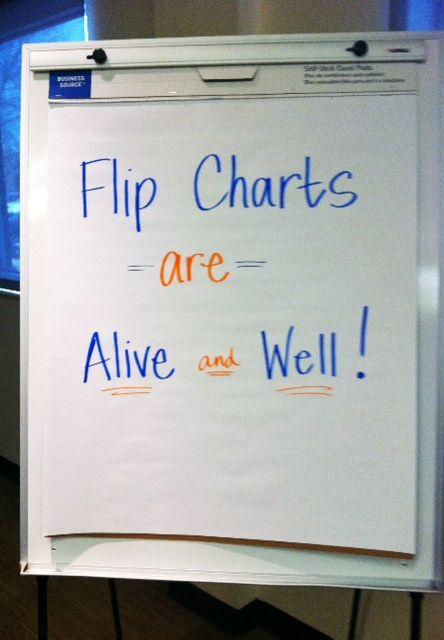 Flip Charts Aren't Dead (so maybe we should get better at using them?!) #facilitationtips #training