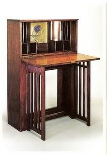 Charles Rennie Mackintosh writing desk