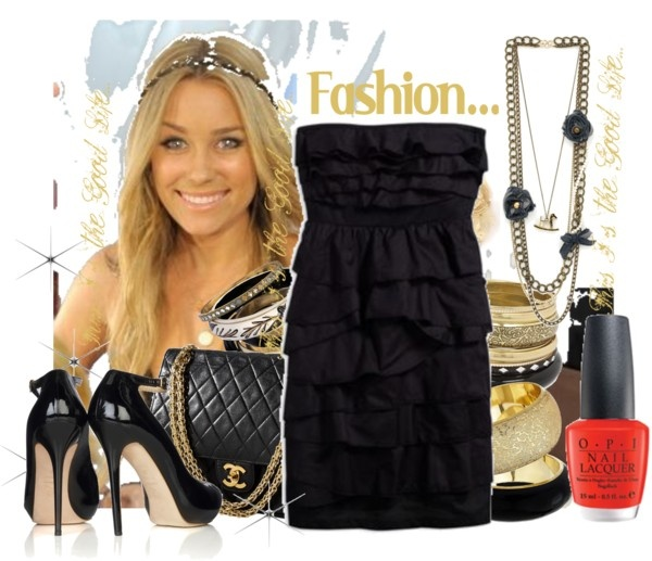 """""""Black Party"""" by gl0ry on Polyvore"""
