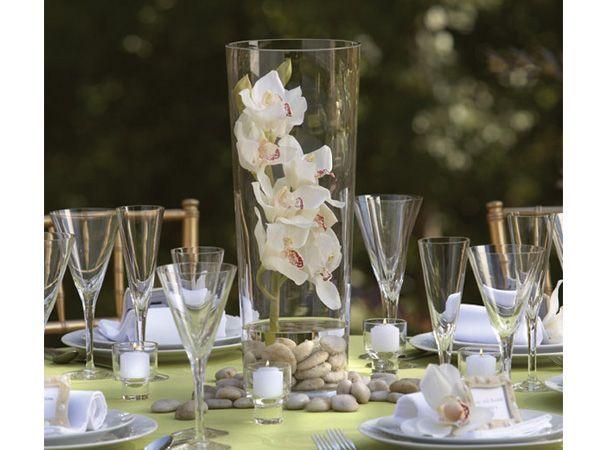 centro de mesa sencillo y elegante boda buscar con google