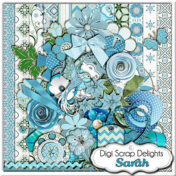 Digital Scrapbooking Hummingbird Scrapbook by DigiScrapDelights