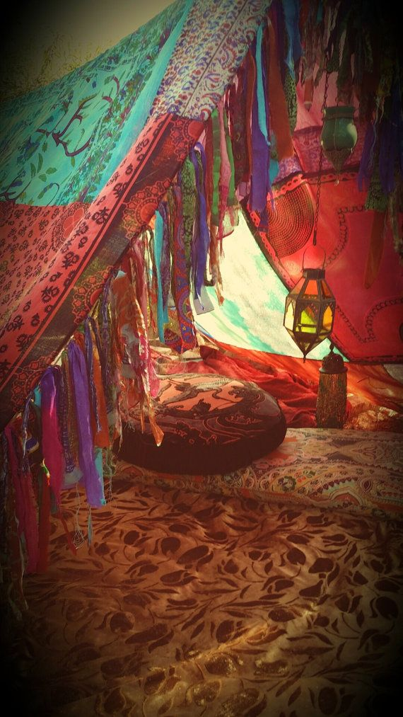 & How to make a gypsy tent