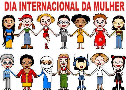 08 DE MARCO DIA INTERNACIONAL DA MULHER!
